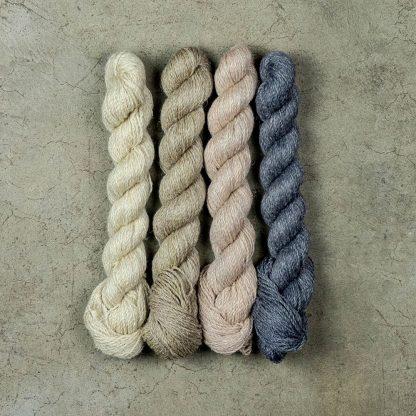 Linen Wool Blend Yarn