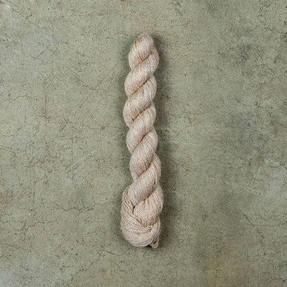 Linen wool blend yarn - Beige