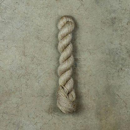 Linen wool blend yarn - Tan