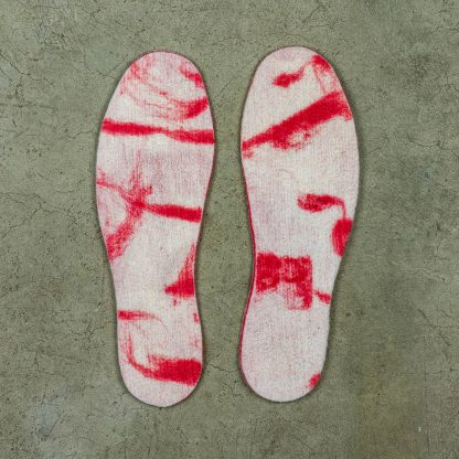 Felted Wool Shoe Pads